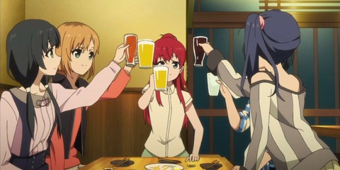 SHIROBAKO 飲み会