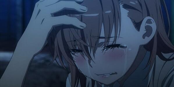 とある魔術の禁書目録 御坂美琴 泣き顔